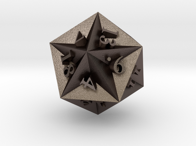 Great Dodecahedron - d20 3d printed