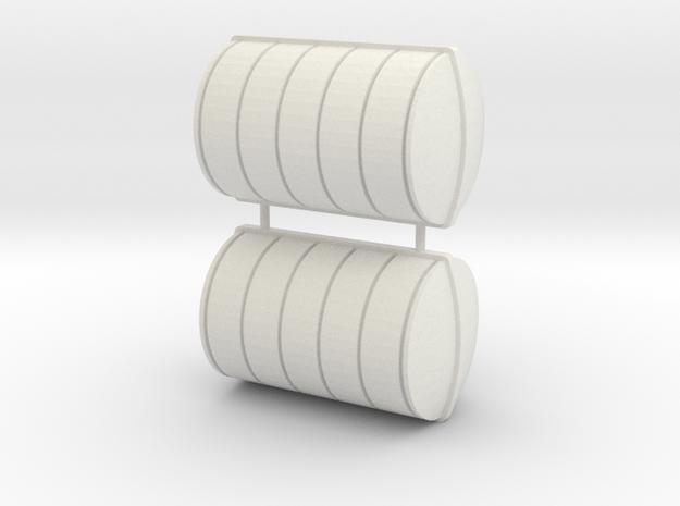 Liferaft 28x17 in White Natural Versatile Plastic