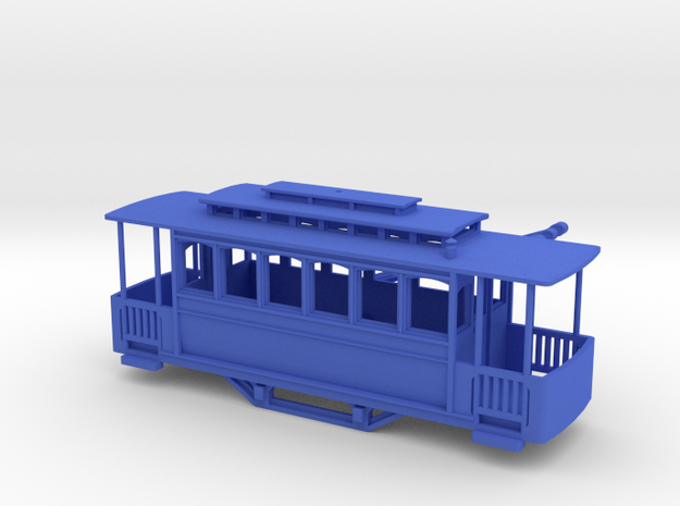 Nm (narrow gauge) 1/160 scale tramway 3d printed