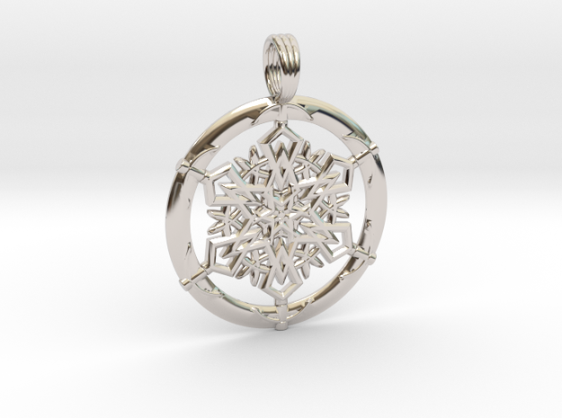 ANCIENT PORTAL in Rhodium Plated