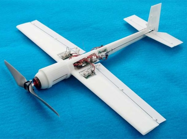Blaze 3 3D Ultra Micro Hotliner RC Airplane in White Natural Versatile Plastic