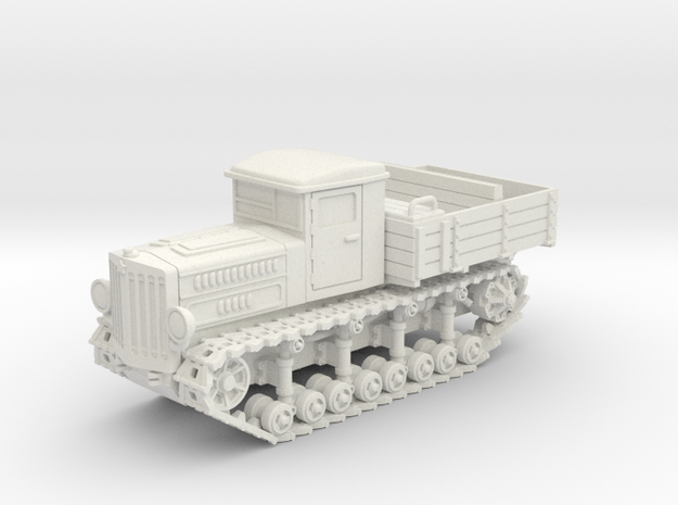 Komintern Tractor (20mm) in White Natural Versatile Plastic