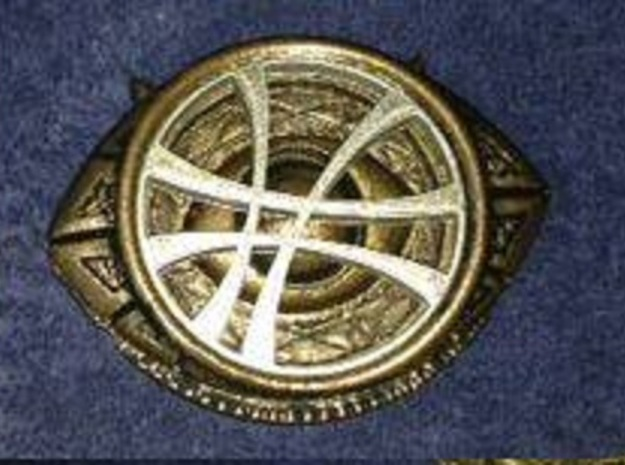 Eye Of Agamotto Base in White Strong & Flexible