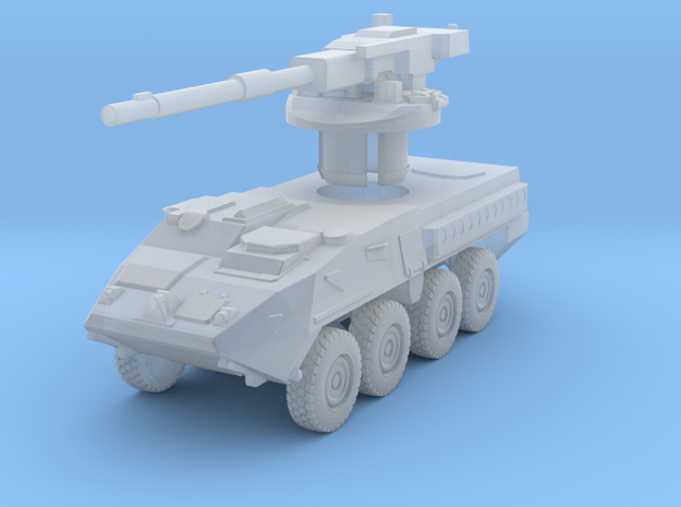 Stryker Mobile Gun System 1:200 in Smooth Fine Detail Plastic