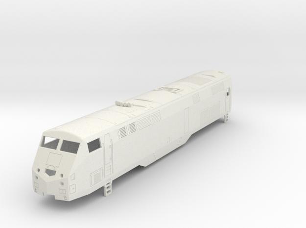 P32 AC-DM MetroNorth H0  in White Natural Versatile Plastic