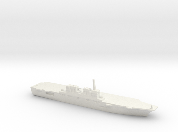 Hyuga-class DDH, 1/2400 in White Natural Versatile Plastic
