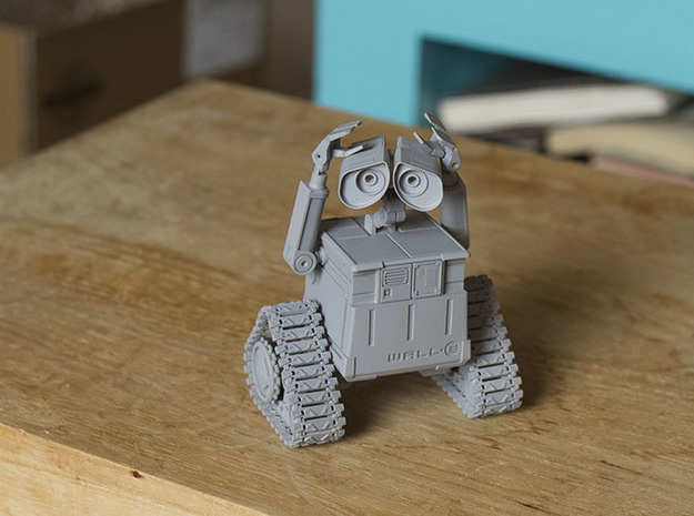 WALL-E 3d printed use primer paint for base color