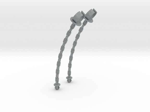 Snakemountainchain in Polished Metallic Plastic