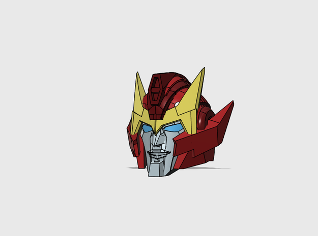 "Hot-headed Captain's Head ""MTMTE"""