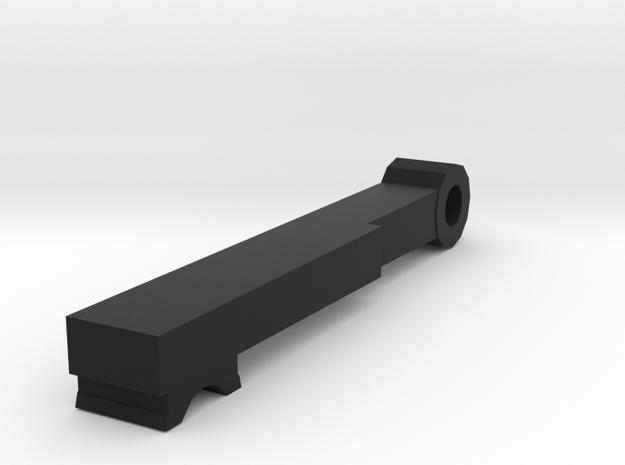 A&K CNC Masada Hopup Arm in Black Natural Versatile Plastic