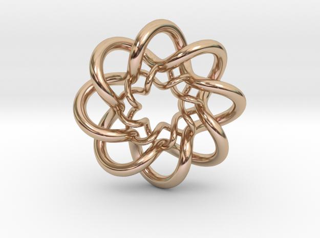 Double Celtic Knot Pendant