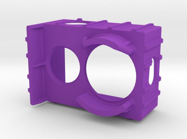 Xiaomi Yi ExoPro Case (Vortex 250 Case) in Purple Strong & Flexible Polished