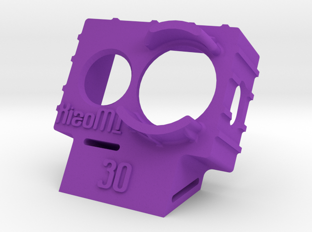 XiaoMI Yi Wedge Case (30deg) in Purple Strong & Flexible Polished