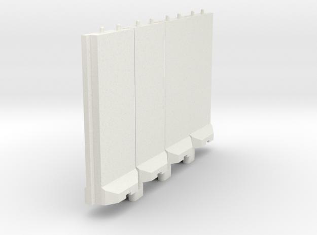 1-100 Concrete T-Wall Section Set
