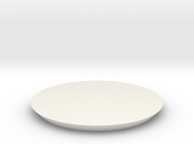 Sports Arena Roof 1 Piece in White Natural Versatile Plastic