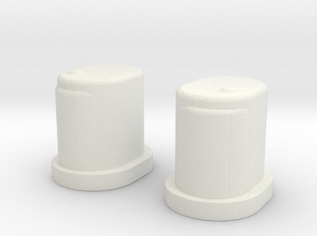 Sworkz Insert Pair in White Strong & Flexible