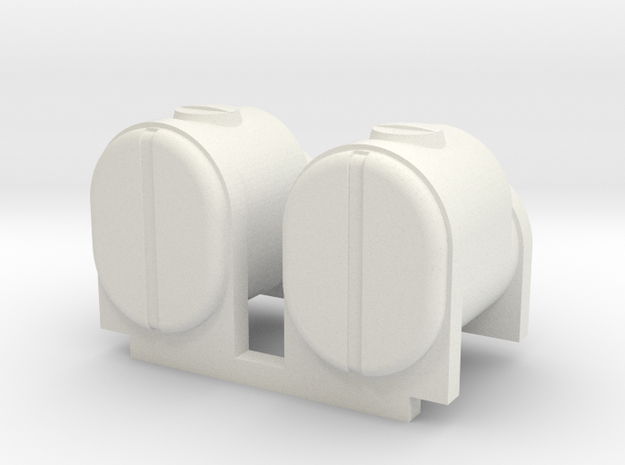 2 Square Bottom Tanks 200 Gal in White Natural Versatile Plastic