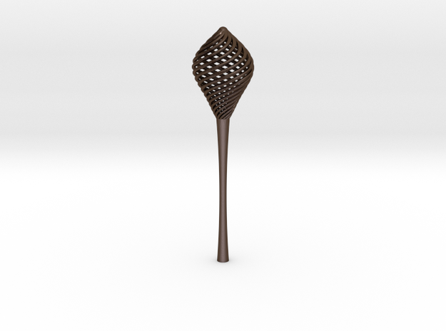 Wand 2 in Polished Bronze Steel