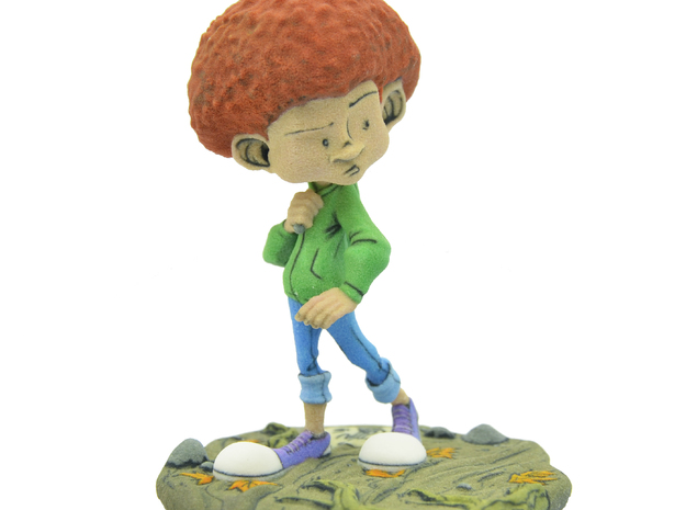 """Will - 4"""" -""""Spirits: The Soul Collector""""- 4"""" in Full Color Sandstone"""