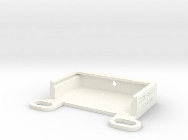 scrb-buzzer-05-16-001-bottom in White Processed Versatile Plastic