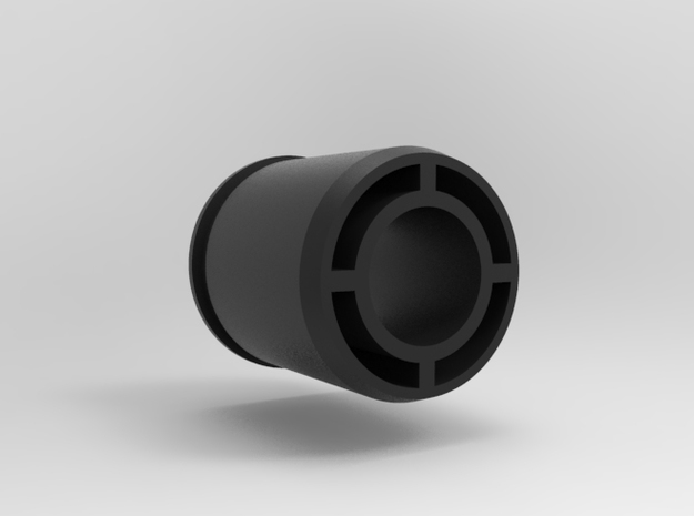 40mm - 21.4mm  APS Adapter PROTOTYPE in Black Natural Versatile Plastic