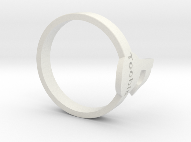 Toobis TagPro Ring in White Strong & Flexible