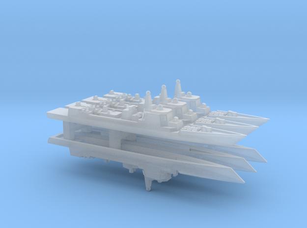 Type 052C Destroyer x 6, 1/6000