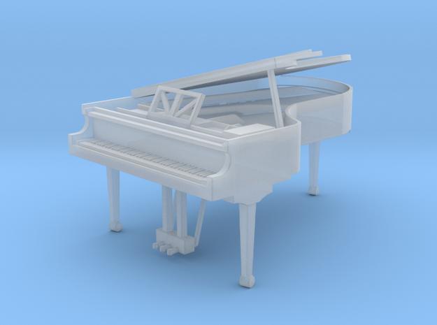 Miniature 1:48 Grand Piano in Smooth Fine Detail Plastic