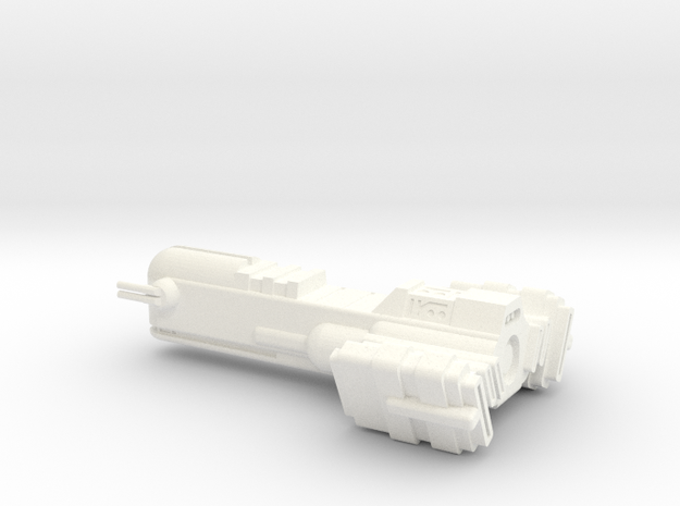 Blockade Runner Large in White Strong & Flexible Polished