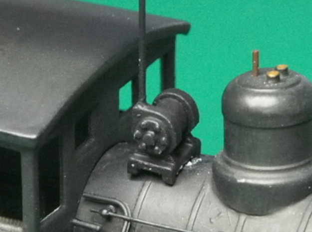 HO scale Turbo Generator for steam locos x12 3d printed Fitted to one of my converted locos.