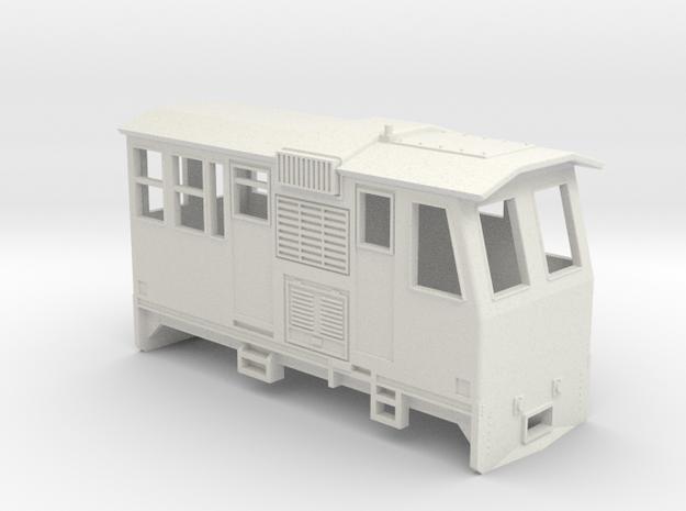 HOn30 Control Car (Kate 3P) in White Strong & Flexible
