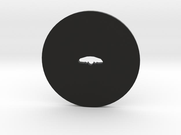 Clay Extruder Die: Handle 007 01 in Black Natural Versatile Plastic