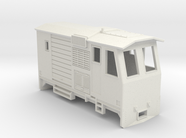 HOn30 Control Car (Kate 3F) in White Strong & Flexible