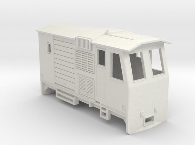 HOn30 Control Car (Kate 3F) in White Natural Versatile Plastic