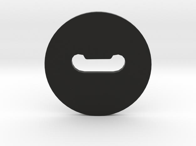 Clay Extruder Die: Handle 010 03 in Black Natural Versatile Plastic