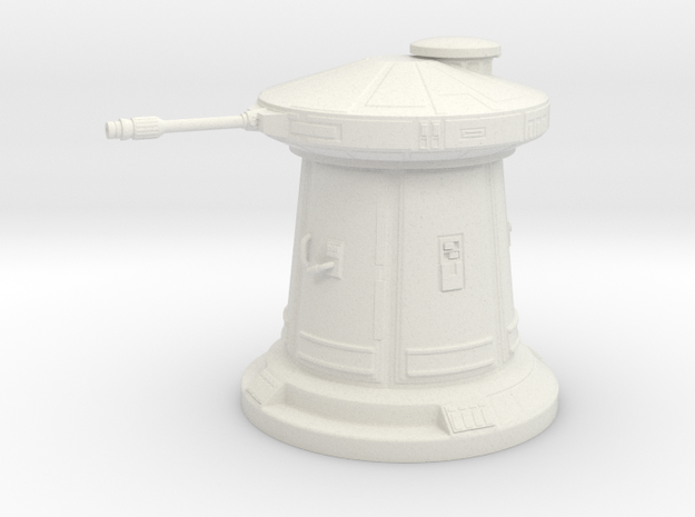 Laser Defense Turret 1:72 scale