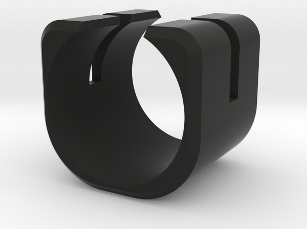 Anello C in Black Natural Versatile Plastic