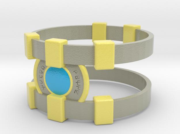 Brainy Bracer ver.2 in Glossy Full Color Sandstone
