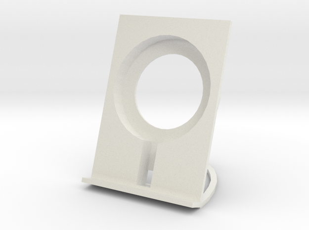 Qi Wireless Charging Stand in White Strong & Flexible