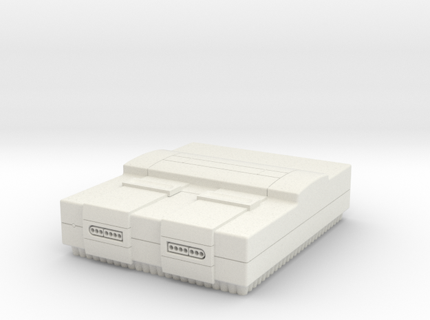 SNES in White Natural Versatile Plastic
