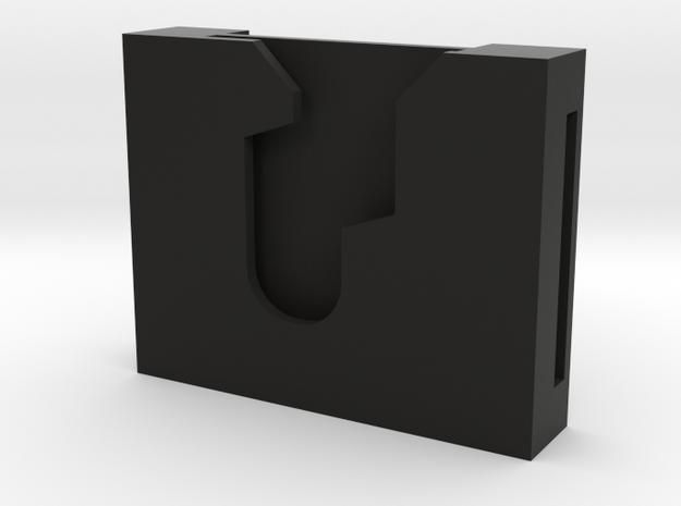 "Lightsaber Speed Clip 1.25"" (reverse slot) in Black Strong & Flexible"