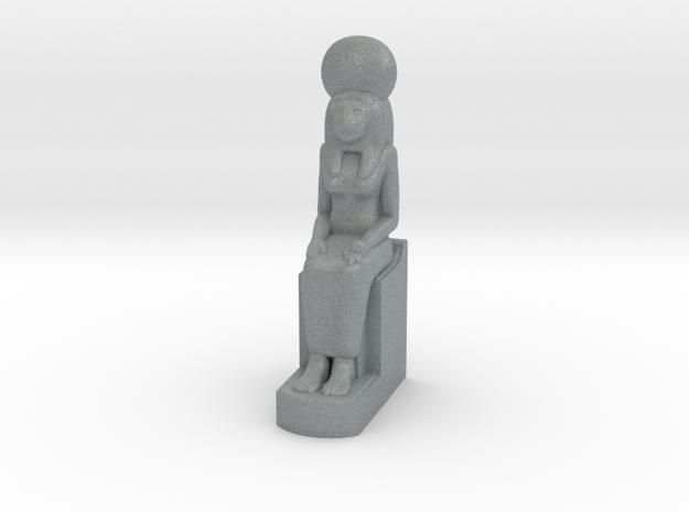 Sekhmet 10 cm in Polished Metallic Plastic