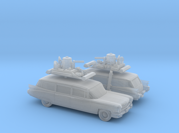 1/160 2X 1959 Cadillac Station Wagon with Roof Rac