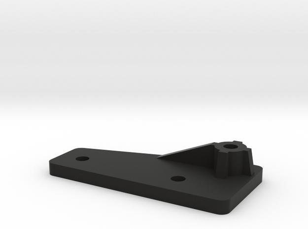 Extension CC01 to D90 Gelande 1:10 2/3 in Black Natural Versatile Plastic