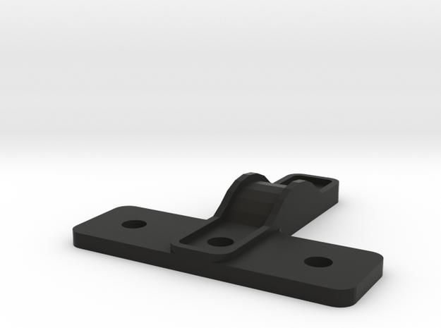 Housing drive shaft CC01 to D110 Gelande 1:10 2/2 in Black Natural Versatile Plastic