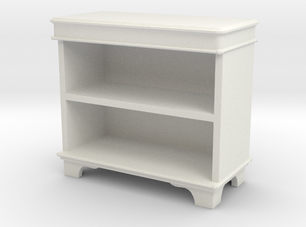 Book Cabinet in White Natural Versatile Plastic