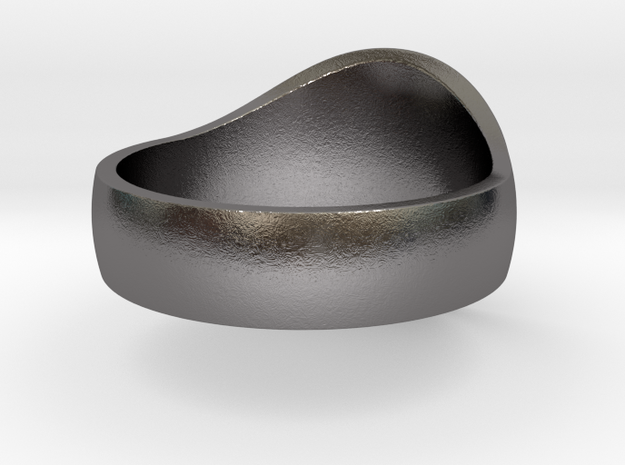 DW Signet Ring 12 in Polished Nickel Steel