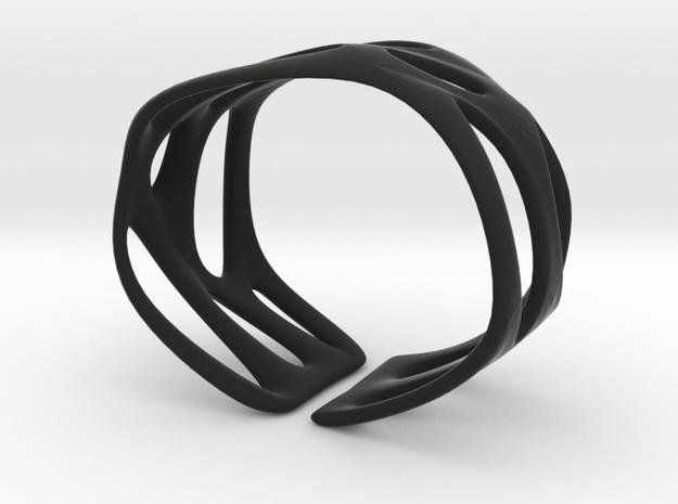 Cellular (size S) in Black Natural Versatile Plastic