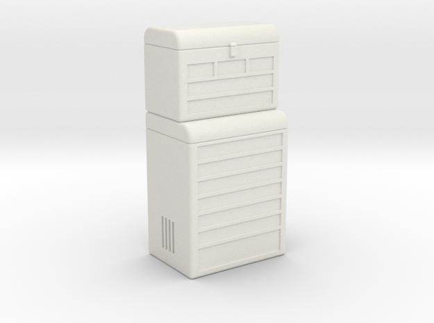Workshop Storage in White Natural Versatile Plastic
