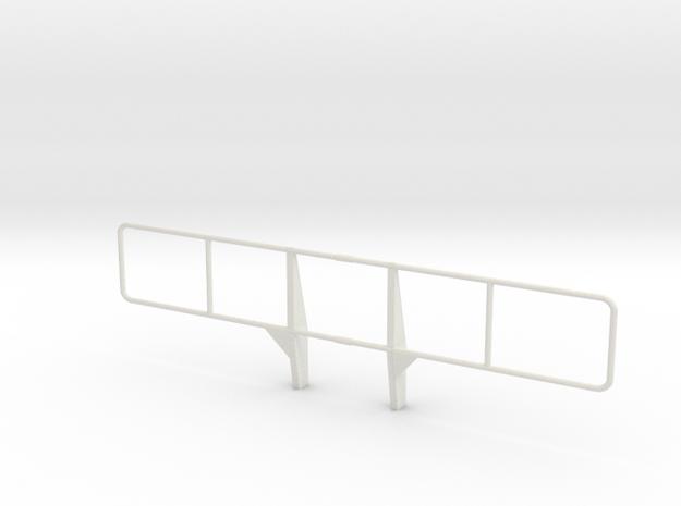 1:6 scale Hmmwv M1114 bumper, brush guard in White Natural Versatile Plastic